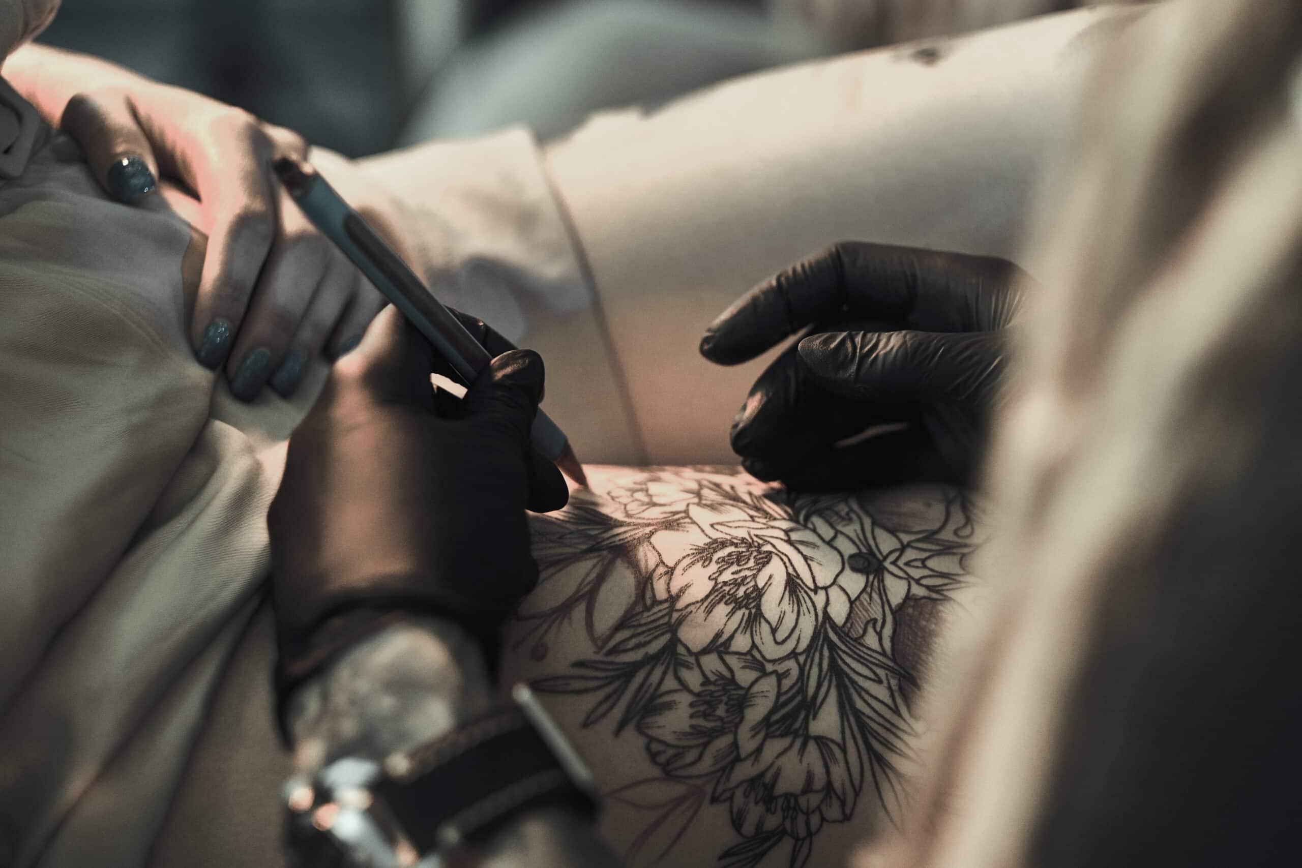 smerte, tatovering, minst, mest,